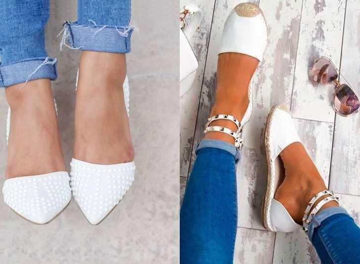 Zapatos Blancos para Moda Verano 2018