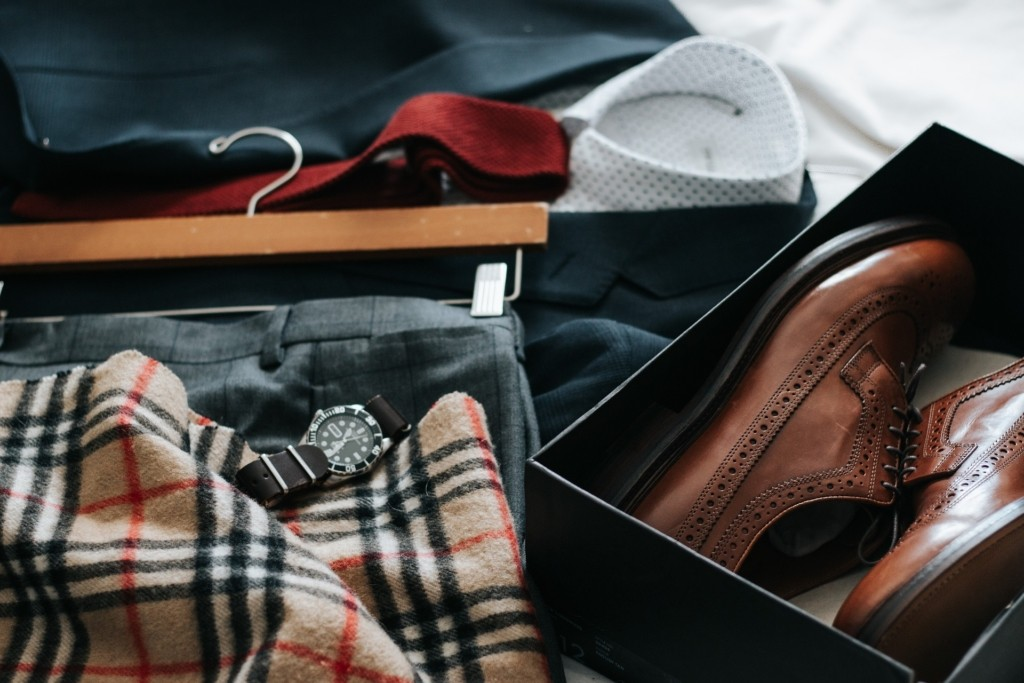 Outfit casual formal para hombre