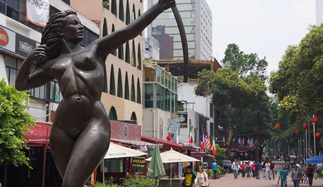 Zona Rosa Gay en Mexico